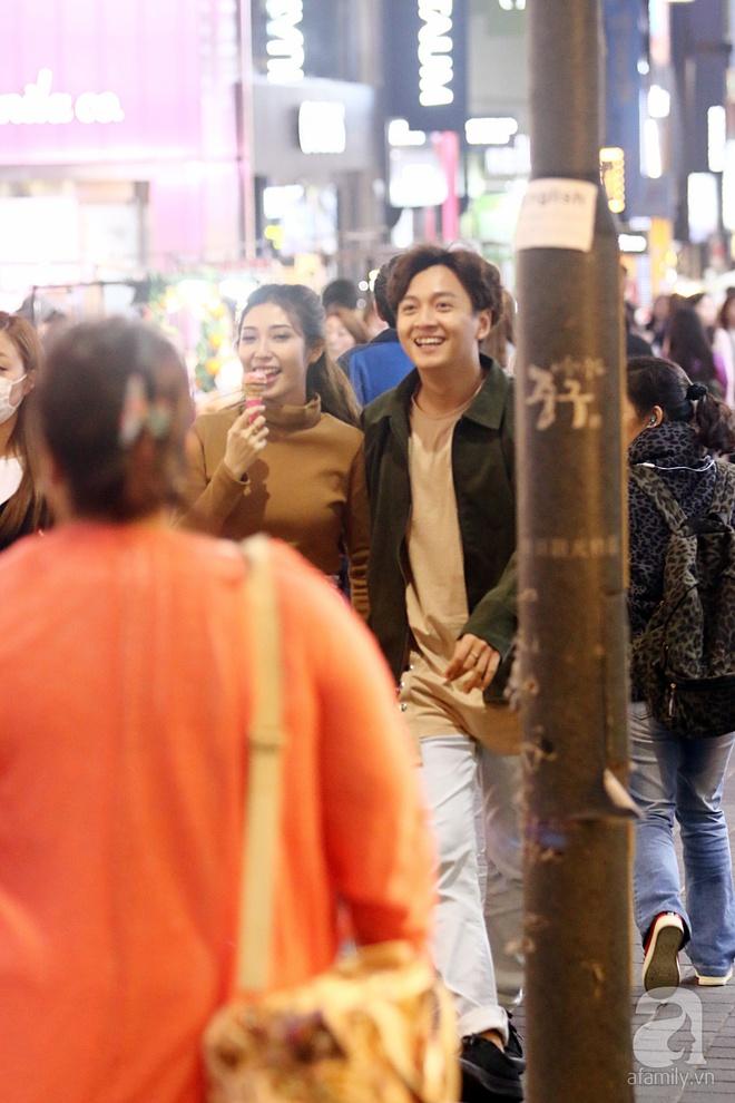 Ngô Kiến Huy tình tứ đưa Khổng Tú Quỳnh đi dạo phố Seoul - Ảnh 5.