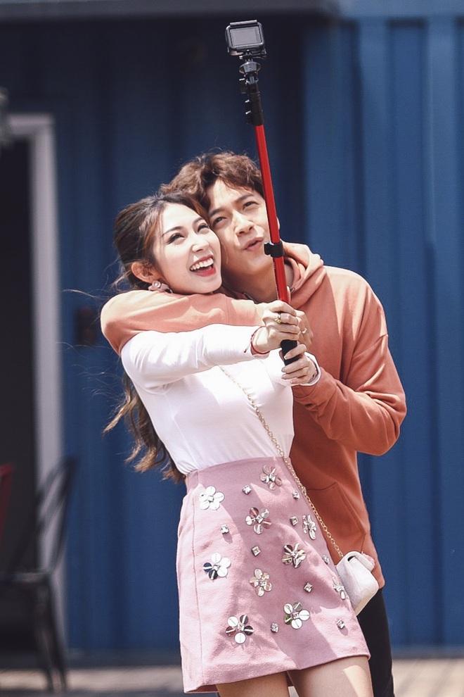 Ngô Kiến Huy - Khổng Tú Quỳnh tay trong tay hạnh phúc ở Hàn Quốc - Ảnh 8.