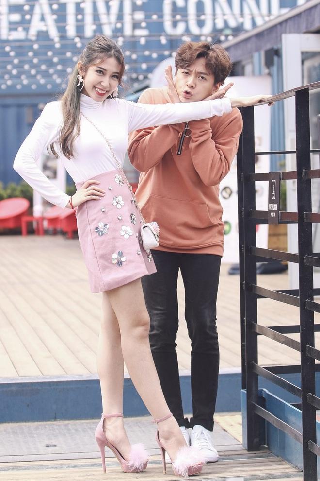 Ngô Kiến Huy - Khổng Tú Quỳnh tay trong tay hạnh phúc ở Hàn Quốc - Ảnh 7.