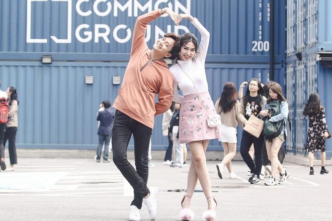 Ngô Kiến Huy - Khổng Tú Quỳnh tay trong tay hạnh phúc ở Hàn Quốc - Ảnh 5.