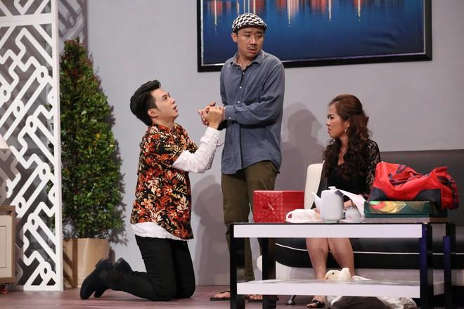 Trấn Thành ép Anh Tú thừa nhận không yêu Diệu Nhi trên sóng truyền hình - Ảnh 3.