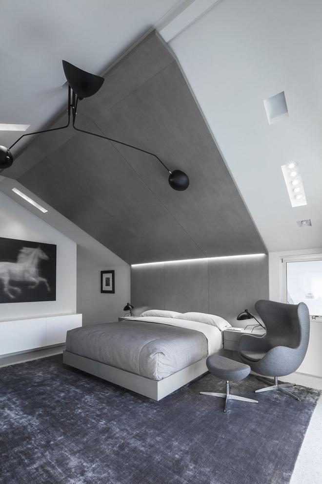 7 cách trang trí đầu giường tạo điểm nhấn cho phòng ngủ - Ảnh 8.