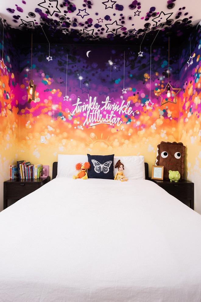7 cách trang trí đầu giường tạo điểm nhấn cho phòng ngủ - Ảnh 11.