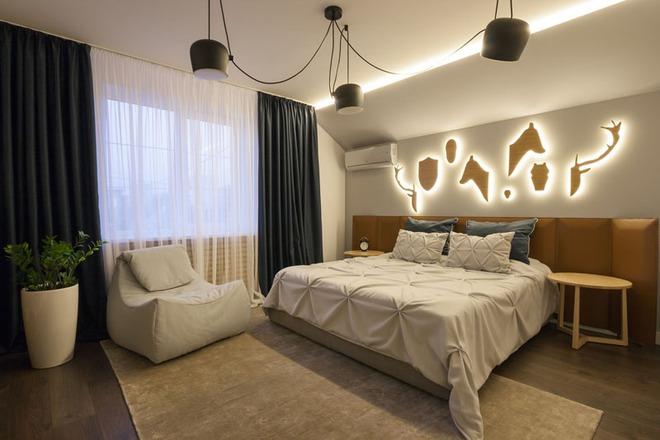 7 cách trang trí đầu giường tạo điểm nhấn cho phòng ngủ - Ảnh 13.