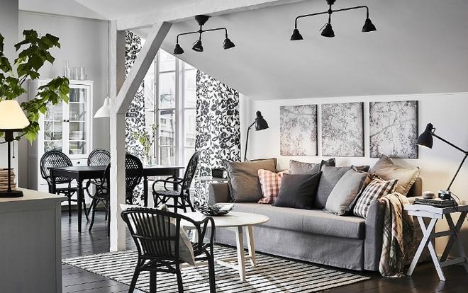 Đây là những phòng khách đẹp như trong mơ mà bạn có thể thiết kế khi có chi phí eo hẹp - Ảnh 1.