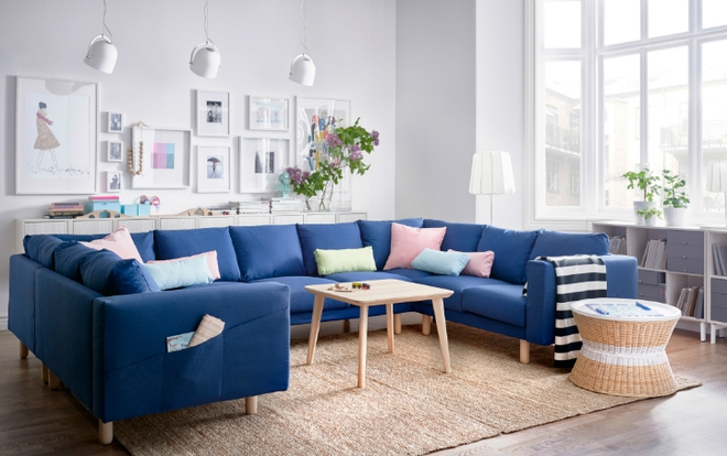 Đây là những phòng khách đẹp như trong mơ mà bạn có thể thiết kế khi có chi phí eo hẹp - Ảnh 4.
