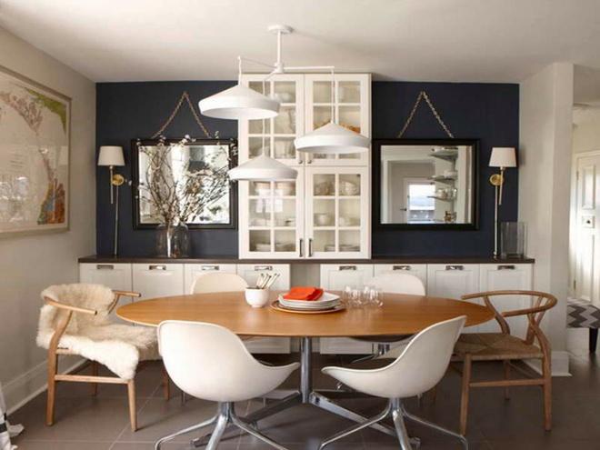 10 lời khuyên ai cũng có thể áp dụng để có phòng ăn đẹp tinh tế trong căn nhà nhỏ - Ảnh 2.