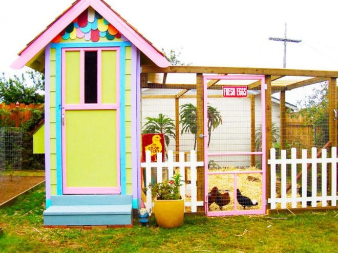 Những ngôi nhà nhỏ xinh đẹp như khách sạn dành cho… gà vịt - Ảnh 4.