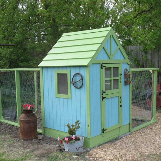 Những ngôi nhà nhỏ xinh đẹp như khách sạn dành cho… gà vịt - Ảnh 8.