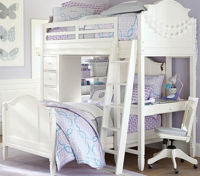 7 mẫu giường ngủ kết hợp bàn học nhìn là muốn mua ngay về cho con - Ảnh 1.