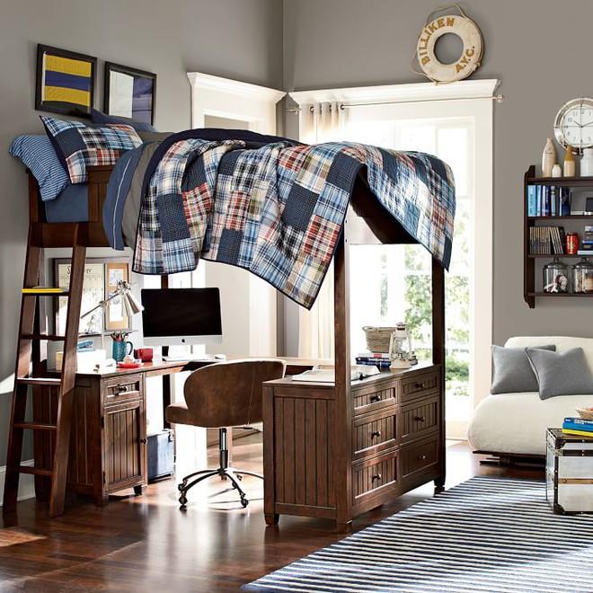 7 mẫu giường ngủ kết hợp bàn học nhìn là muốn mua ngay về cho con - Ảnh 3.