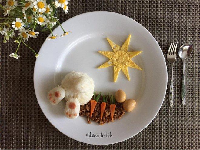 Chẳng cần khéo tay vẫn có thể trang trí món ăn siêu đẹp giúp con hết biếng ăn - Ảnh 7.
