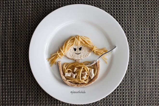 Chẳng cần khéo tay vẫn có thể trang trí món ăn siêu đẹp giúp con hết biếng ăn - Ảnh 8.