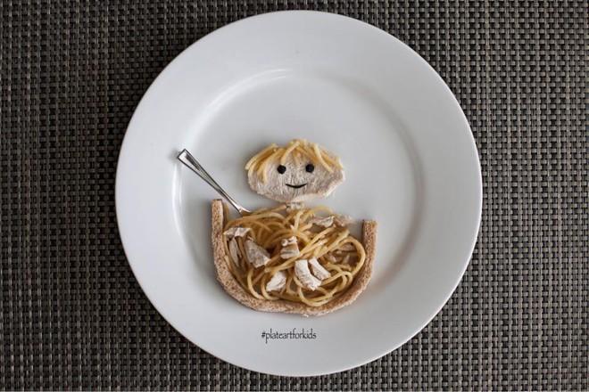 Chẳng cần khéo tay vẫn có thể trang trí món ăn siêu đẹp giúp con hết biếng ăn - Ảnh 9.