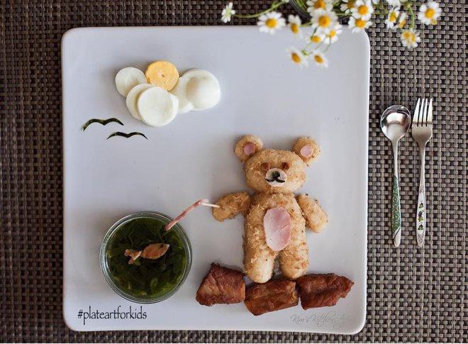 Chẳng cần khéo tay vẫn có thể trang trí món ăn siêu đẹp giúp con hết biếng ăn - Ảnh 10.