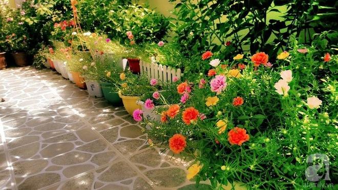 Khu vườn rộng gần nghìn m² đầy hoa và rau xanh của cô giáo dạy toán - Ảnh 11.