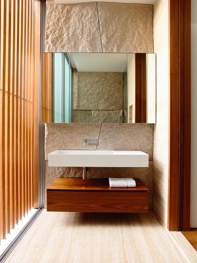 Thiết kế kệ mở giúp phòng tắm gia đình trở nên hoàn hảo đến khó tin - Ảnh 10.