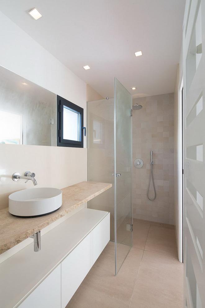 Thiết kế kệ mở giúp phòng tắm gia đình trở nên hoàn hảo đến khó tin - Ảnh 15.