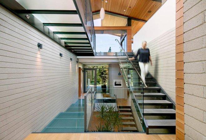 Ngôi nhà vừa ấm áp vừa gần gũi với người dùng chỉ nhờ chất liệu đơn giản này - Ảnh 4.