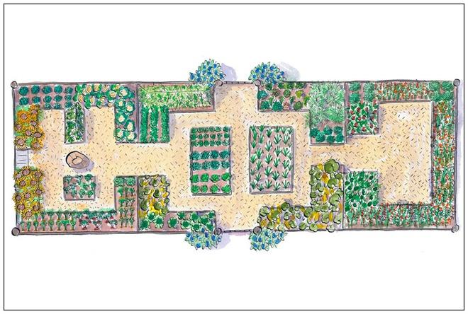 Những thiết kế đẹp bạn có thể học tập để tạo sân vườn xinh tại nhà - Ảnh 2.