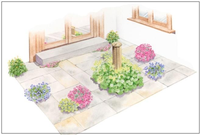 Những thiết kế đẹp bạn có thể học tập để tạo sân vườn xinh tại nhà - Ảnh 4.