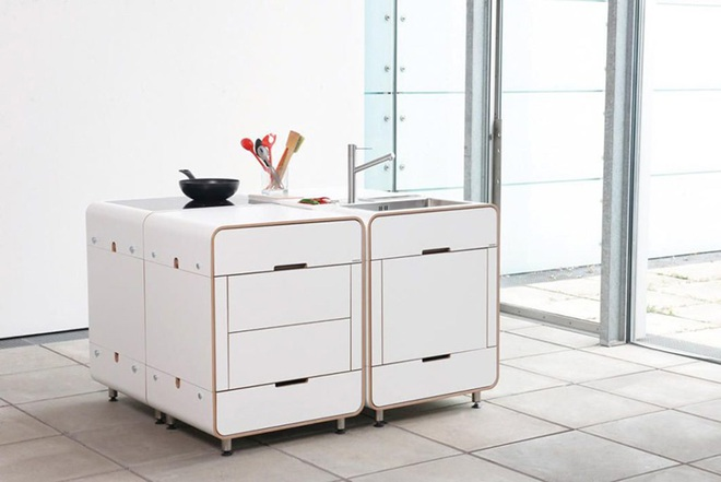 Phòng bếp nhỏ với thiết kế tích hợp mà bất kỳ nhà nào cũng ao ước có được - Ảnh 1.