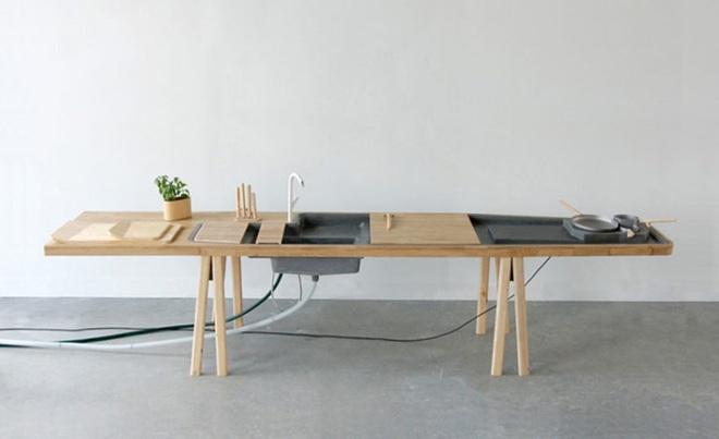 Phòng bếp nhỏ với thiết kế tích hợp mà bất kỳ nhà nào cũng ao ước có được - Ảnh 5.