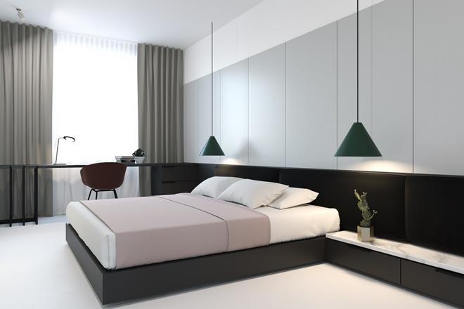 Hai căn hộ nhỏ với sắc trắng làm chủ đạo đẹp mười phân vẹn mười - Ảnh 6.