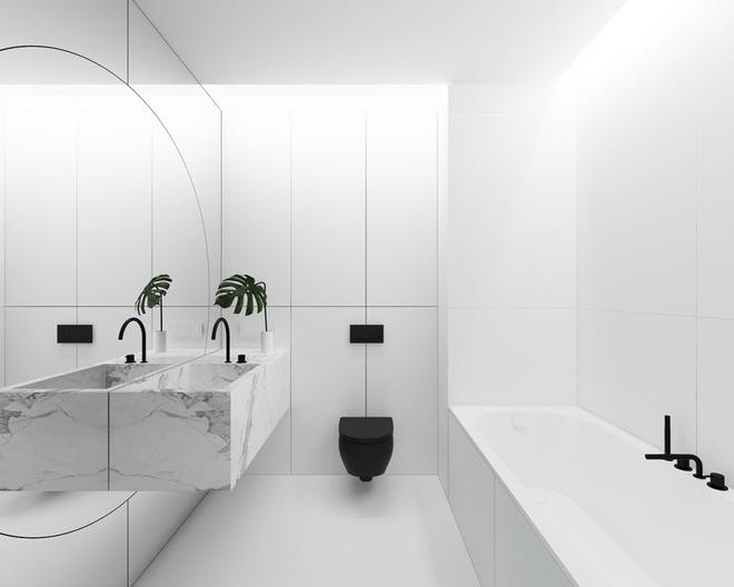 Hai căn hộ nhỏ với sắc trắng làm chủ đạo đẹp mười phân vẹn mười - Ảnh 9.