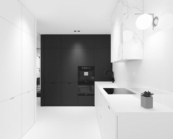 Hai căn hộ nhỏ với sắc trắng làm chủ đạo đẹp mười phân vẹn mười - Ảnh 10.