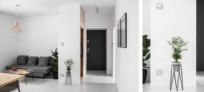Hai căn hộ nhỏ với sắc trắng làm chủ đạo đẹp mười phân vẹn mười - Ảnh 12.