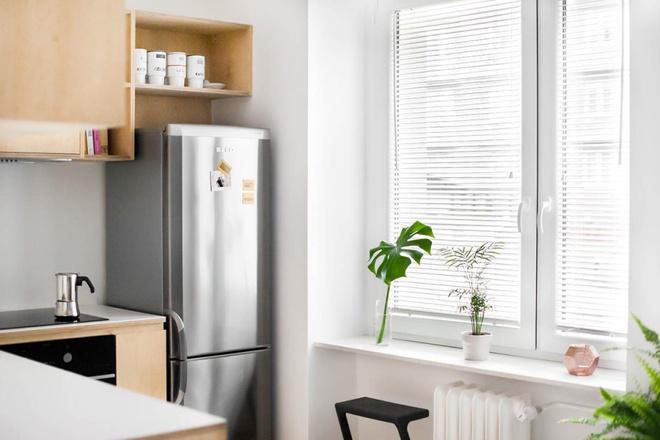 Hai căn hộ nhỏ với sắc trắng làm chủ đạo đẹp mười phân vẹn mười - Ảnh 13.