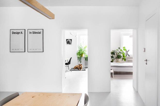 Hai căn hộ nhỏ với sắc trắng làm chủ đạo đẹp mười phân vẹn mười - Ảnh 15.