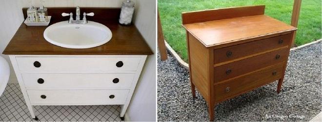 Những mẫu bồn rửa tay có thiết kế đẹp và hợp lý cho nhà tắm nhỏ - Ảnh 4.
