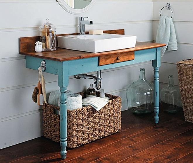 Những mẫu bồn rửa tay có thiết kế đẹp và hợp lý cho nhà tắm nhỏ - Ảnh 5.