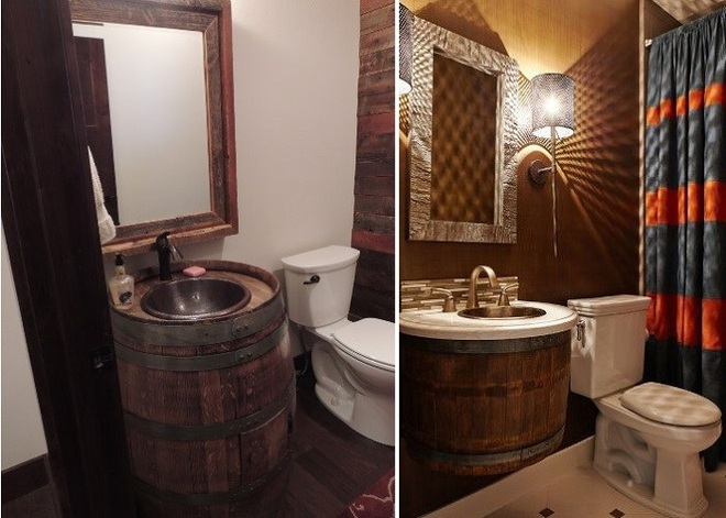 Những mẫu bồn rửa tay có thiết kế đẹp và hợp lý cho nhà tắm nhỏ - Ảnh 8.