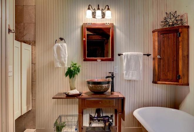 Những mẫu bồn rửa tay có thiết kế đẹp và hợp lý cho nhà tắm nhỏ - Ảnh 10.