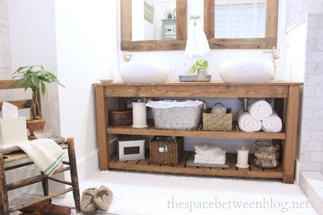 Những mẫu bồn rửa tay có thiết kế đẹp và hợp lý cho nhà tắm nhỏ - Ảnh 12.