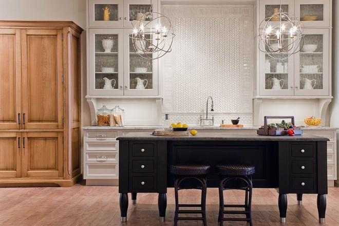 5 kiểu tủ bếp thủy tinh sẽ khiến nhà bếp trở nên đẹp lung linh hơn bao giờ hết - Ảnh 13.