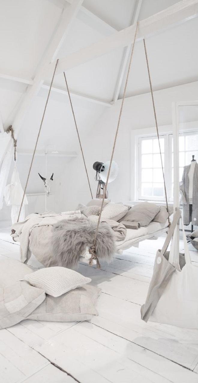 Mê mẩn 8 mẫu giường ngủ treo lơ lửng rất độc đáo và ấn tượng - Ảnh 6.