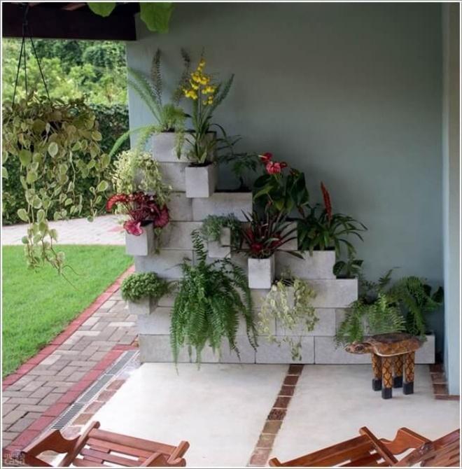 14 cách tự thiết kế những khu vườn đứng xanh tươi, hút mắt từ đồ cũ cực ấn tượng  - Ảnh 1.