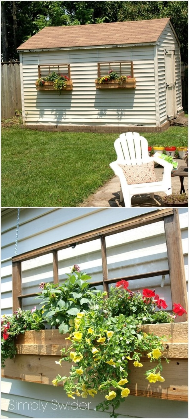 14 cách tự thiết kế những khu vườn đứng xanh tươi, hút mắt từ đồ cũ cực ấn tượng  - Ảnh 6.