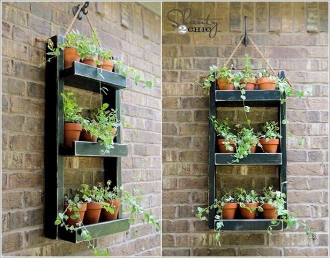 14 cách tự thiết kế những khu vườn đứng xanh tươi, hút mắt từ đồ cũ cực ấn tượng  - Ảnh 8.