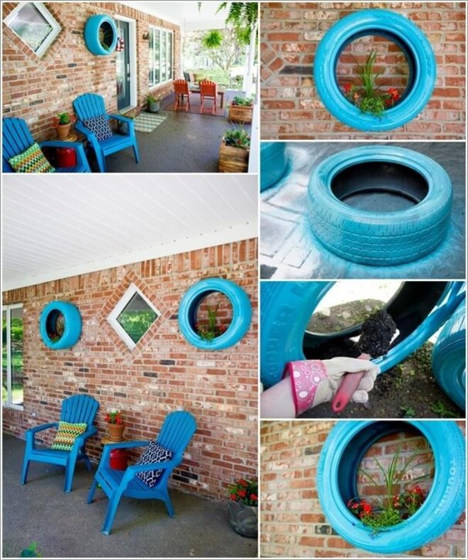 14 cách tự thiết kế những khu vườn đứng xanh tươi, hút mắt từ đồ cũ cực ấn tượng  - Ảnh 9.
