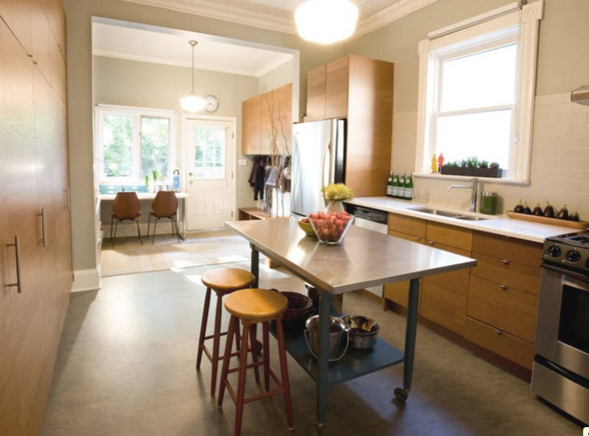 Những mẫu thiết kế đẹp, hiện đại và vô cùng tiện lợi cho nhà bếp vỏn vẹn 5m2 - Ảnh 2.