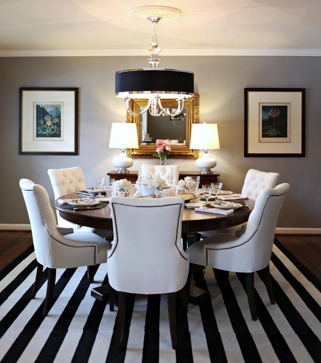 Trang trí phòng ngủ và phòng ăn sáng bừng với chiếc thảm trải sàn vô cùng đơn giản - Ảnh 12.