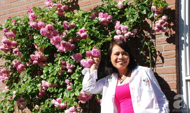Khu vườn hoa nở suốt bốn mùa đẹp như trong mơ của đạo diễn Nguyễn Hải Anh - Ảnh 33.