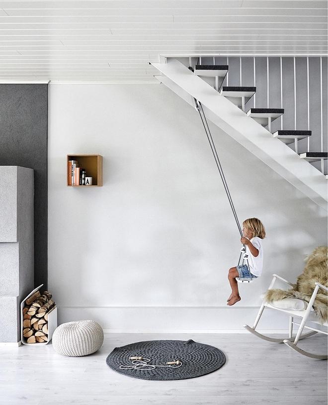 Swing: Ý tưởng thiết kế mà trẻ con hay người lớn đều ao ước được có trong nhà - Ảnh 5.