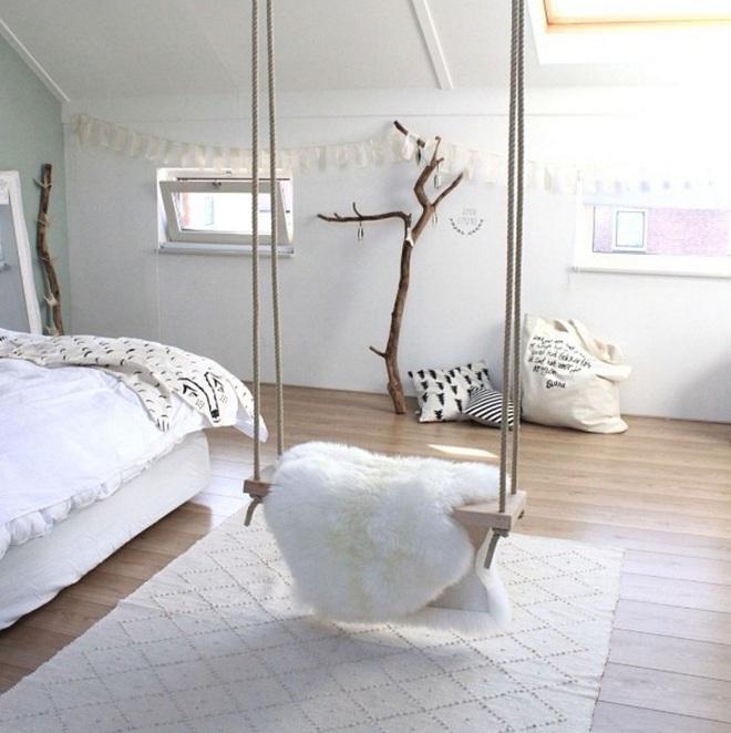 Swing: Ý tưởng thiết kế mà trẻ con hay người lớn đều ao ước được có trong nhà - Ảnh 6.