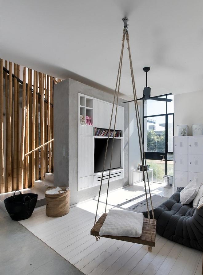 Swing: Ý tưởng thiết kế mà trẻ con hay người lớn đều ao ước được có trong nhà - Ảnh 14.